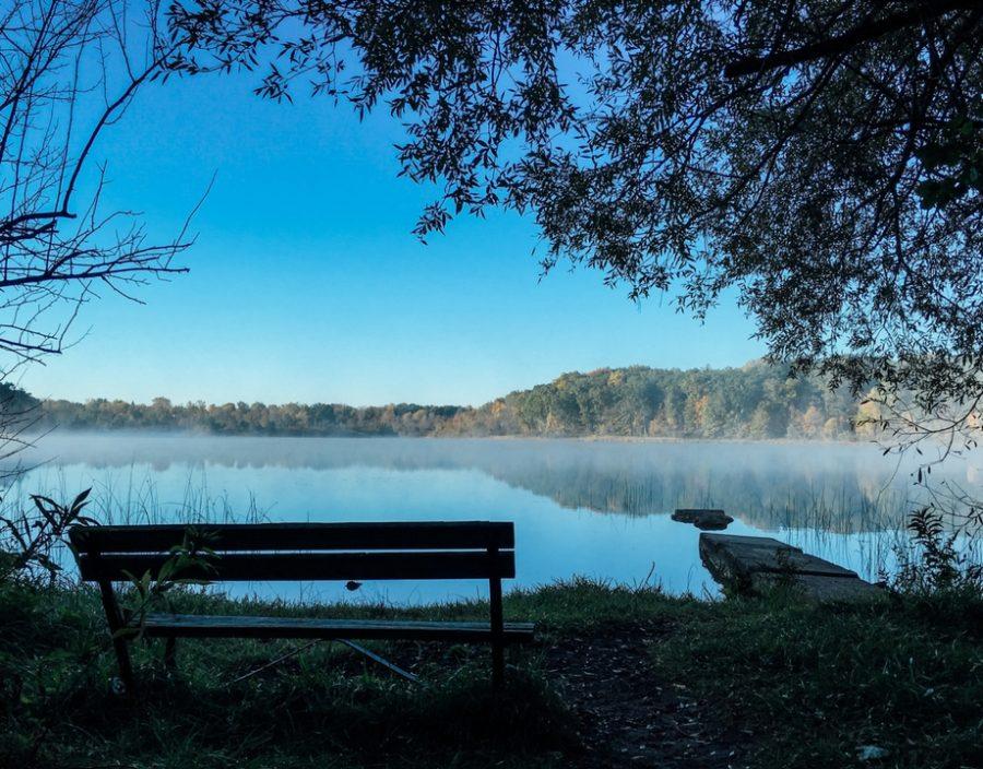 bench_lake